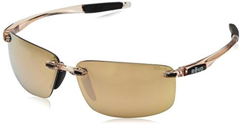 Revo Damen Sonnenbrille Gr. 64 mm, Blush Champagne