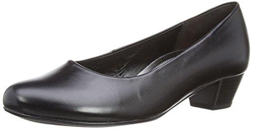 Gabor - Alston L, Scarpe col tacco Donna Nero (Black (Black Leather))