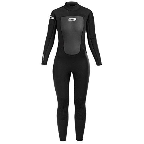 Osprey Origin 3 mm Neoprenanzug für Damen, Lang Sommer Ganzkörper Surfanzug mit 3/2 mm Neopren, Full Wetsuit zum Surfen