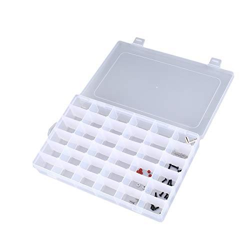 36 Slots Tragbare Werkzeug Aufbewahrungskoffer Box Schraube Nagel Handwerk Container Organizer