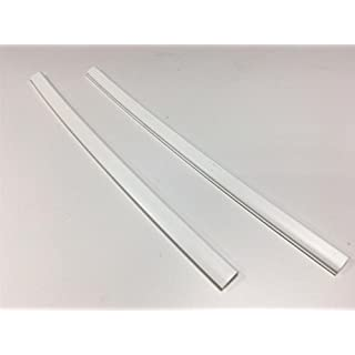 Bump Stop Front Or Rear Door Guard Clip Push On Protectors Edge Strip White