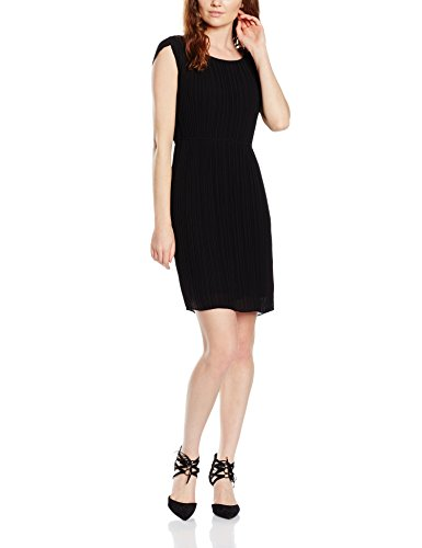s.Oliver BLACK LABEL Damen Kleid 11.604.82.4953, Schwarz (Celebrate 9999), 38