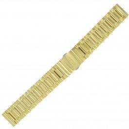 Rado 18–18mm Edelstahl Gold Herren-Armbanduhr Band