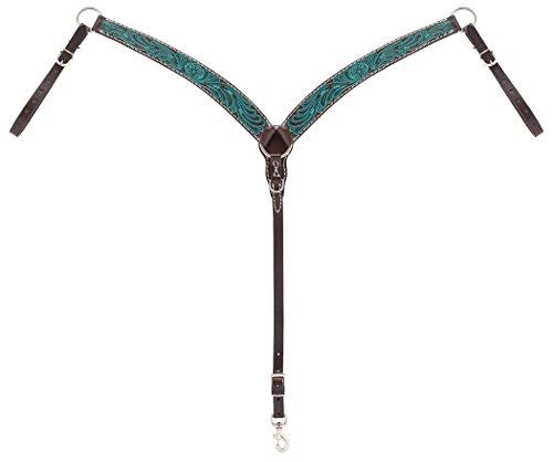 Turquoise Cross Türkises Kreuz geschnitzt türkis Blume Kollektion, 45-0326, Dark Oil, Einheitsgröße -