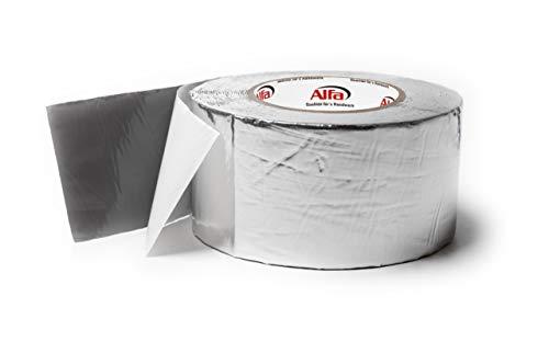 75mm x 10m Alu- kaschiertes Butylklebeband wetterfestes Dichtungsband für ein dauerhaftes Abdichten von Dachanschlüssen Stößen und Wohnwägen (75 mm x 10m)