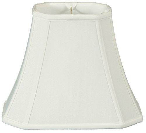 Royal Designs Lampenschirm, rechteckig, weiß, (7 x 9) x (10.25 x 16) x 12.25 10.25
