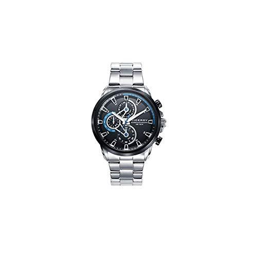 e6ce6a3700da Viceroy Reloj Cronógrafo para Hombre de Cuarzo con Correa en Acero  Inoxidable 46733-57