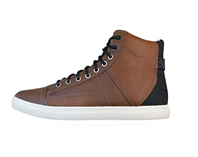 G-Star Raw Augur II Sentinel Mens Leather Trainers / Boots - Brown - SIZE UK 10