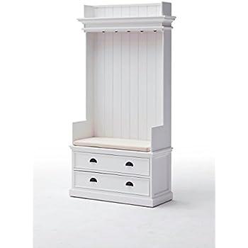 Provence Landhausmöbel elegante Garderobe weiß Landhaus