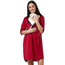 Para Mujer Camisón para el Parto Hospital Premamá Lactancia.593p