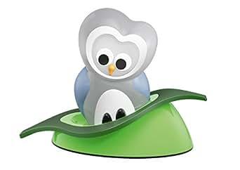 OSRAM LED-Nachtlicht / UUHLED  / Taschenlampenfunktion / Dämmerungssensor / Schlummerleuchte für Babys  / Eule  / Tageslicht - 7000K