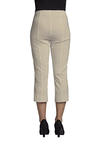 Beige Capri-hose (Robell Marie 07 Slim Fit Stretchhose Schlupfhose Damen Capri Hose #Marie 07 (38, beige(14)))