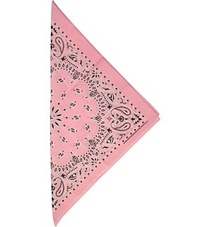 Fabfive - HAV-A-Hank - Original Made in USA Bandana - Light Pink, Größe One Size/Ohne Größe