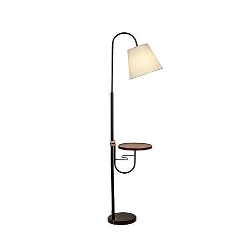 Kurven 3 Glühbirnen (Stehlampe stehendes Leselicht, LED-Standardlampe Metallhandwerk-Fernsteuerungsschalter, 3 Stufen des Dimmens, 3 Arten Farbe, Wohnzimmer Schlafzimmerstudie)
