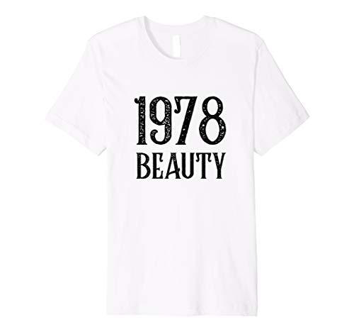Happy 40th Birthday Shirt 1978 Distressed Retro Vintage