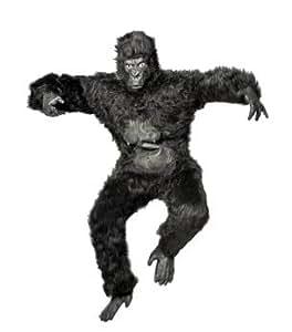 Homme Costume Gorille Peluche