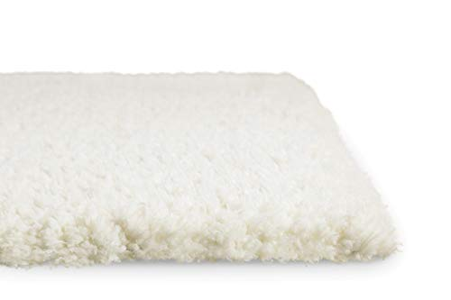 Weiße Flokati-teppiche (Homie Living I Hochflor Teppich I Parma I sehr flauschig und kuschelig I (Weiß, 80 x 150 cm))