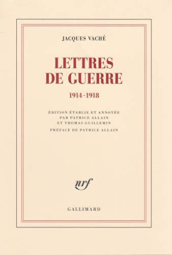 Lettres de guerre: (1914-1918)