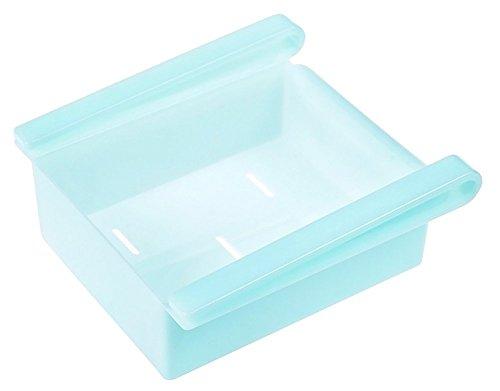 Da.Wa Fridge Box Kitchen Storage Box Drawer Kühlschrank Lagerung Schublade Kuehlschrank Regal,Plastik,16.2*15.5*7 cm,Blua