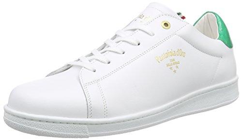 Pantofola d'OroNERETO - Scarpe da Ginnastica Basse Uomo , Multicolore (Mehrfarbig (BRIGHT WHITE / FERN GREEN)), 42
