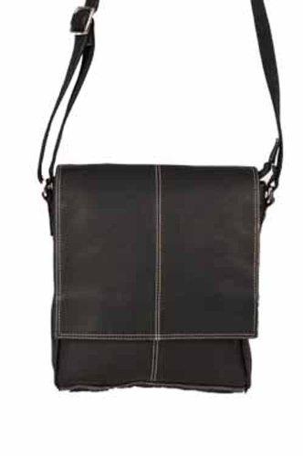 david-king-co-deluxe-simple-medium-messenger-black-one-size