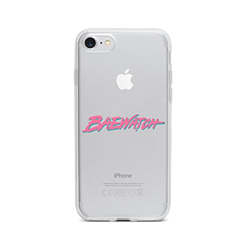 licaso Apple iPhone 8 Handyhülle Smartphone Apple Case aus TPU mit Baewatch Print Motiv Slim Design Transparent Cover Schutz Hülle Protector Soft Aufdruck Lustig Funny Druck Andersons Apple