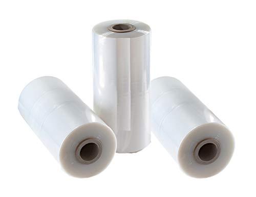LDPE Schlauchfolie Kleiderfolie Kleiderschutzhülle 90cm 500 Stück mit Abriß