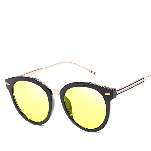 Top Shishang Sport Fahren Sonnenbrillen Brillen für Mann Womens Radfahren Driving Golf Ultraleicht, gelb