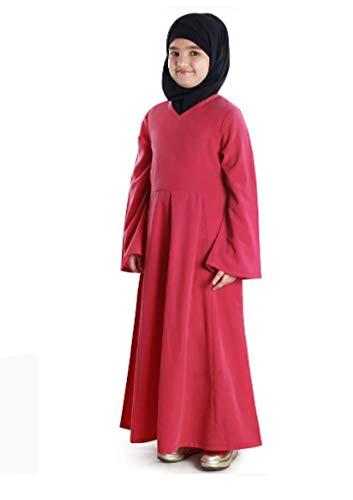 6bc842566a65 RADANYA Ragazze Musulmane Abaya Abito Caftano Arabo Bambini Islamico Abaya  Jilbab per 3-12 Anni