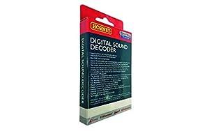 Hornby R8114 TTS - Decodificador de Sonido (Accesorio de riel Negro de 5 pies)