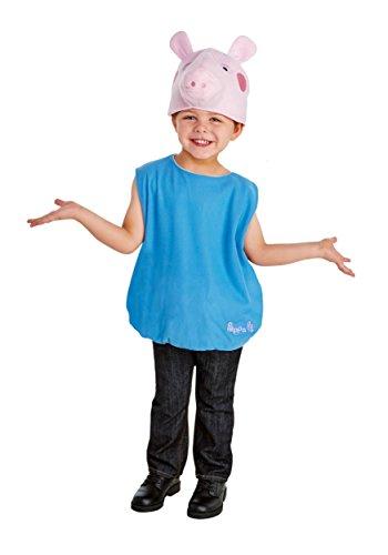 Pig Peppa Kid Kostüm - LF Products Pte. Ltd dba Palamon International Boy's George Pig Fancy dress costume 3T/4T