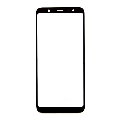 Ownstyle4you Samsung Galaxy A6 Plus (2018) Front Screen Outer Glass [ Schwarz ] Frontglass Glass Display-Glas Screen Ersatzdisplay Displayglass Frontglas mit Rahmen -