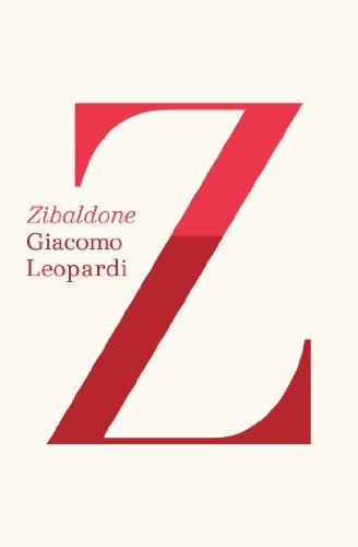 Zibaldone (English Edition)