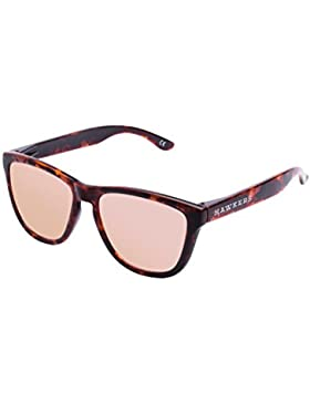 Hawkers OTR34, Occhiali da Sole Unisex-Adulto, Marrone (Carey / Rose Gold), 60