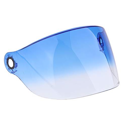 Homyl Visiera Casco Moto Protezione Raggi UV Per YOHE 357 358 350A 339 LINS - 2