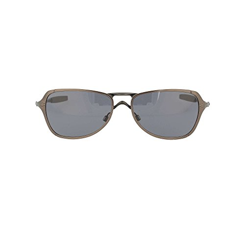 Oakley Felon Oo4028 Brushed Chrome / Grey Metallgestell Sonnenbrillen