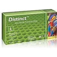 Distinct 29225 - Guante desechable sin polvo de látex, extra pequeño, 100 unidades