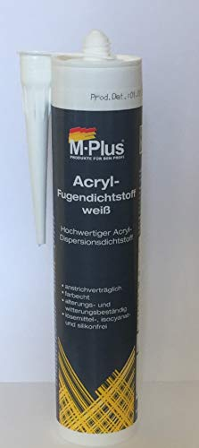 M-Plus Acryl-Fugendichtstoff weiss 310ml