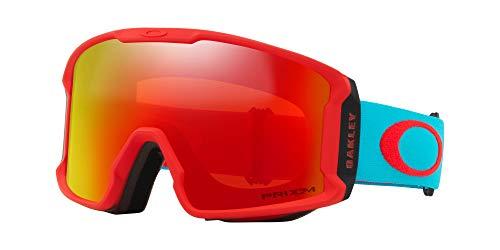 Oakley Line Miner XM Snow Goggle Caribbean Sea Red/Prizm Snow Torch Iridium 2018 Goggles