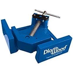 Diamwood - Etau d'angle 95 x 70 mm à vis et serrage double pivot - Diamwood