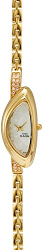 Titan Raga Analog White Dial Women's Watch - NE9934YM01A image