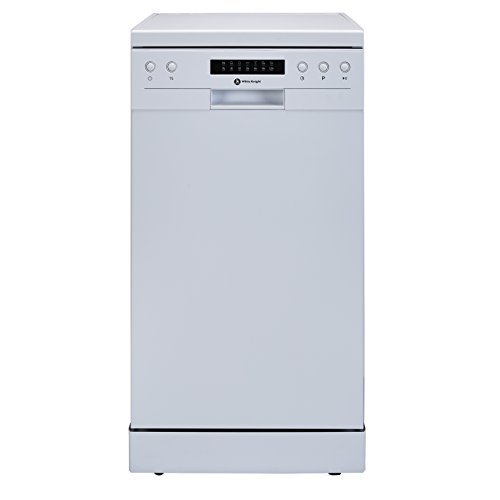 White Knight DW1045WA 10 Place Slimline Freestanding Dishwasher- White