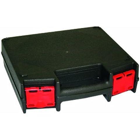 Viso TK100 - Valigia di presentazione in polipropilene, chiusure rosse, colore: Nero