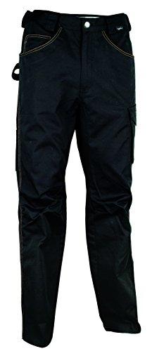 Cofra 40-00V014 - Pantaloni da lavoro Walklander, 290 g/m² secondo la norma EN 340, 40-00V01402-98 Nero