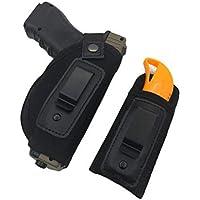 Hihey Carry Caza al Aire Libre Nylon Tactical Muslo Bolsa Pierna Pistola para Todas Las Armas de Fuego