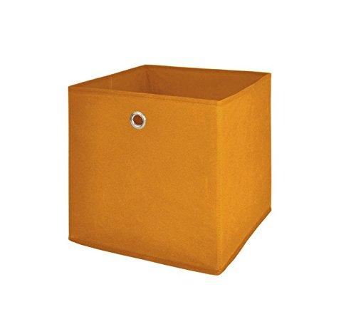 intertrade-1534-faltbox-3-er-set-beta-1-stoff-optik-32-x-32-x-32-cm-orange