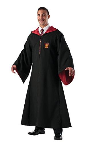 (Gryffindor Robe Umhang Harry Potter Schuluniform Gewand schwarz rot)