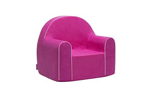 Midi Fauteuil enfant enfants Baby Fauteuil Fauteuil canapé chaise Chaise pour enfant mousse écologique (Rose)