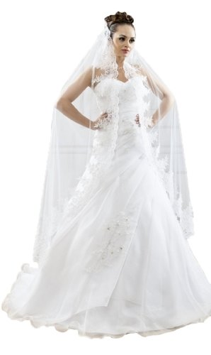 Astrapahl - Velo da sposa - Donna Bianco