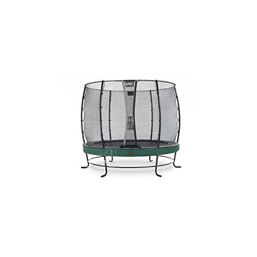 EXIT Trampolin Elegant Premium Ø 251 cm grün mit Netz Economy 08.10.08.20